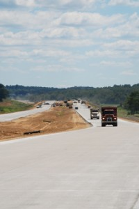 US 231 South Construction 9/2009