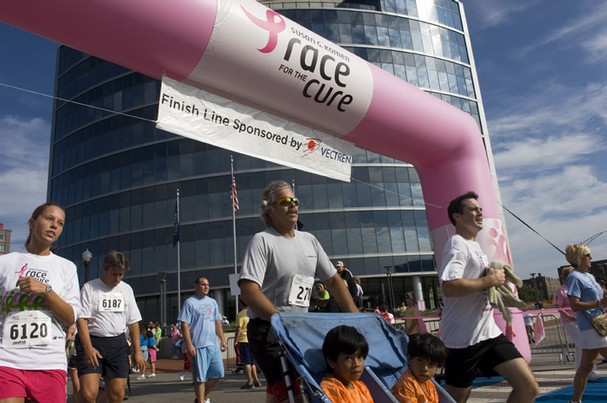 Donnie Hirsch at Race for the Cure