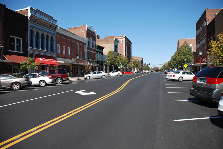 Main Street in Downtown Henderson, KY