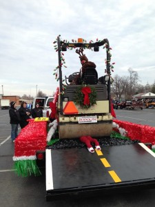 J.H. Rudolph's 2014 Parade Float
